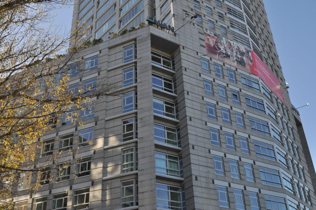Biurowiec babka Tower widok od strony północnej