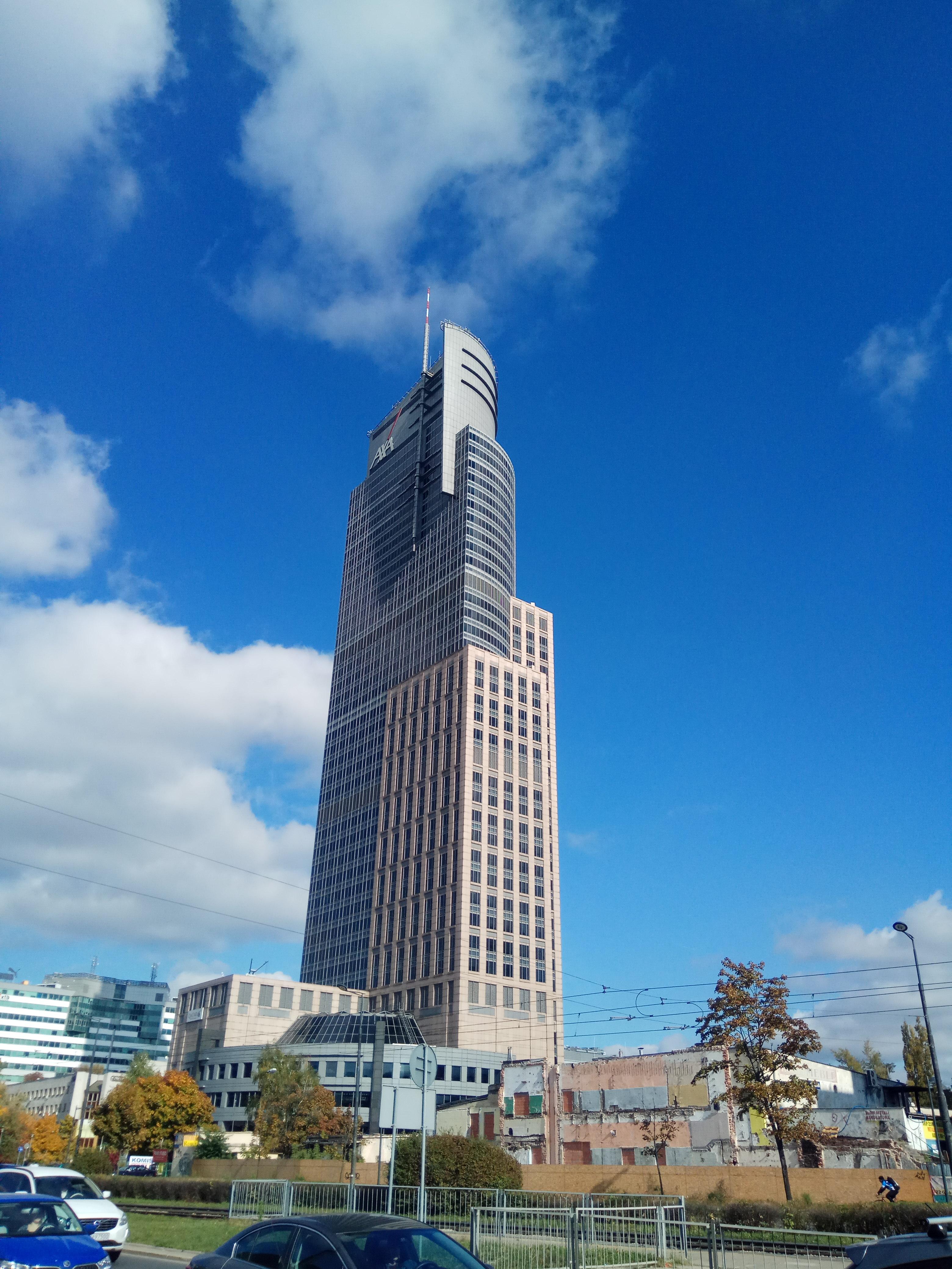 Warsaw Trade Tower widok od strony zachodniej